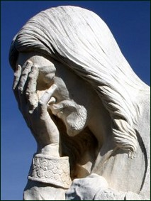 Jesus Wept cropped from And Jesus Wept by Terry Alexander