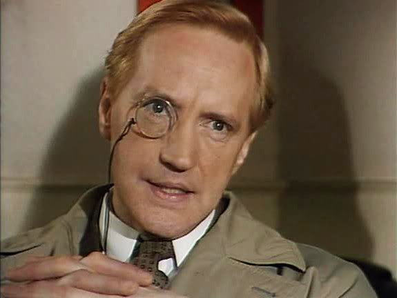 Edward Petherbridge as Lord Peter Wimsey