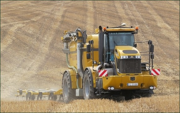 Biogen's picture of farm tractor at work