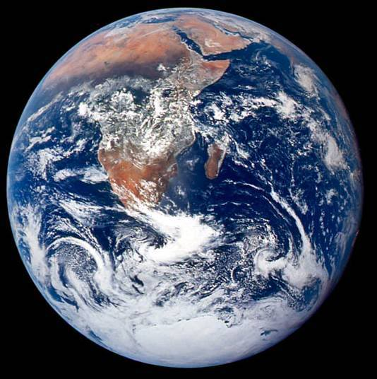 Blue Marble Earth picture