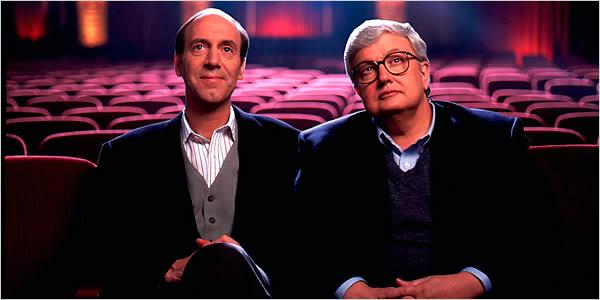 Picture of film critics in cinema