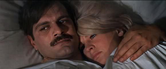 Omar Sharif and Julie Christie in Dr Zhivago