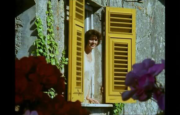 Josie Lawrence as Lottie - Screenshot from Enchanted April
