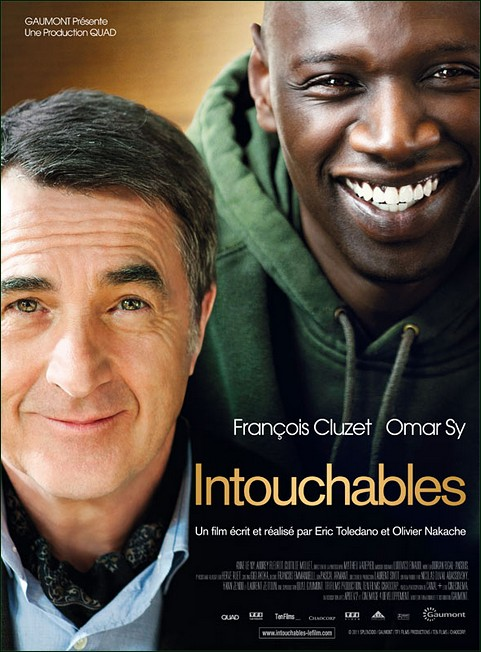 Fran�ois Cluzet and Omar Sy in Intouchables