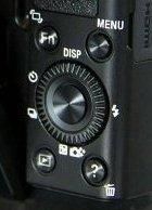 Sony Cyber-Shot DSC-RX100 rear controls