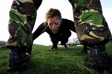 Picture of boot camp training