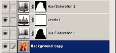 Link symbols in layers