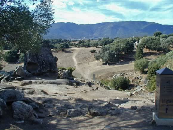 Picture of site at Filitosa