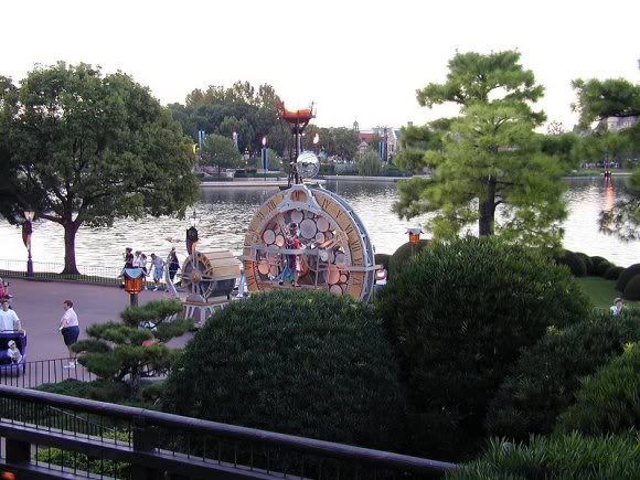 Picture of the parade at Epcot