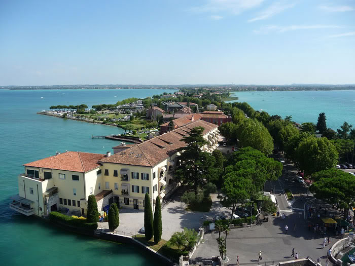 Sirmione from top of castle