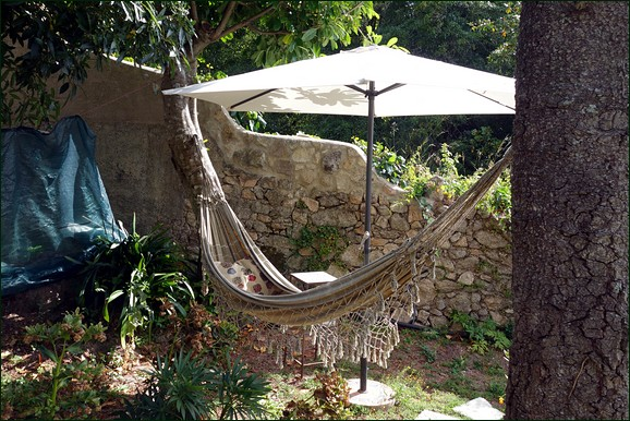 Picture of hammock in Sintra Cinco Airbnb