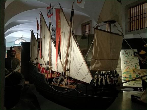 Lisbon ship at Lisboa Story Centre