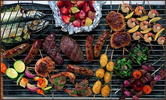 Picture of barbecue grill
