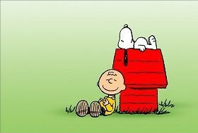 Picture of Snoopy and Charlie Brown